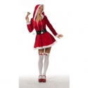 kerstvrouw met capuchon maat 40