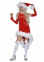 kerstvrouw met boarand maat 38, 40, 44