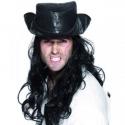 hoed-piraat-caribbean-zwart-met-haar