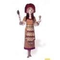 indiaan-inca-jurk geen hoofdtooi erbij