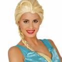 Elsa pruik volwassen maat
