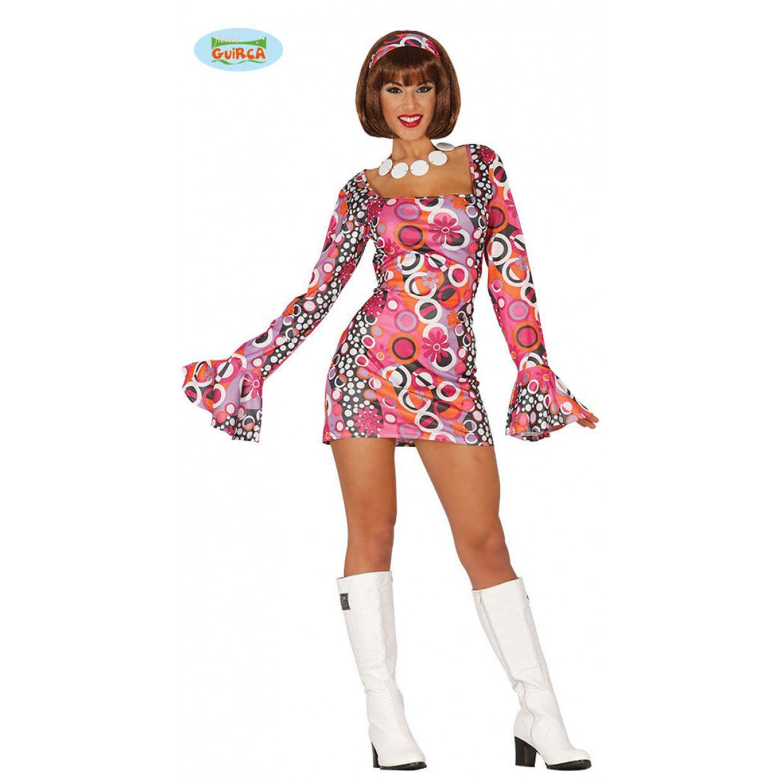 Disco vrouw kostuum mt 38-40