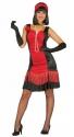 charleston-kostuum-vrouw-rood